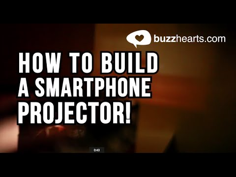 How to build a smartphone projector! – DIY Home Theatre!
