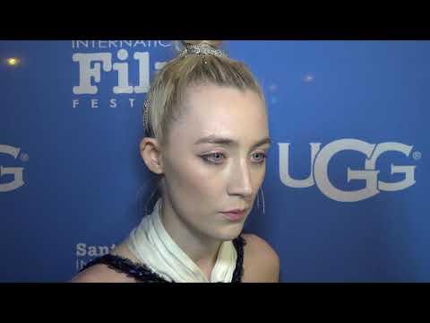 SBIFF 2018 - Saoirse Ronan - Santa Barbara Award Red Carpet Interview