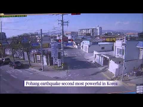 Earthquake in Pohang