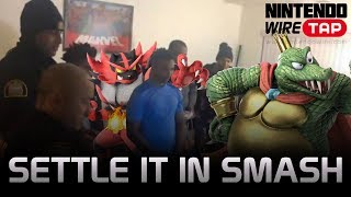 Police Respond to a Noise Complaint & Settle it in Smash | Nintendo Wiretap