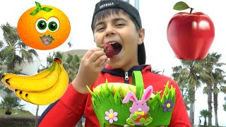 Johny Johny Yes Papa Song for Learn Fruits Names and More Nursery Songs with Guka Maria and Nastya