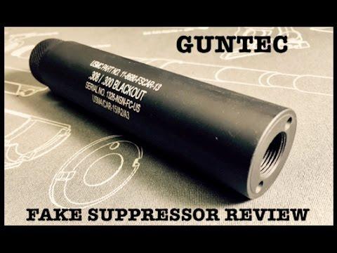 AR-15 Guntec USA Slip Over Fake Suppressor Quick Look
