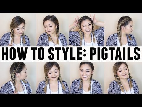 HOW TO STYLE: PIGTAILS  JaaackJack
