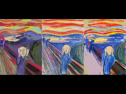 Mastercopy: The Scream by Edvard Munch (Pilot)