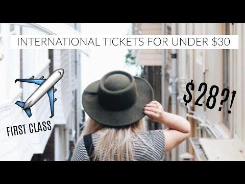 How I Get First Class $25,000 Plane Tickets For Under $30 - MY SECRETS | Elisabeth Beemer
