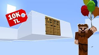 FAKİR'in 10.000 TL'lik BULUT EVİ BULUNDU! 😱 - Minecraft