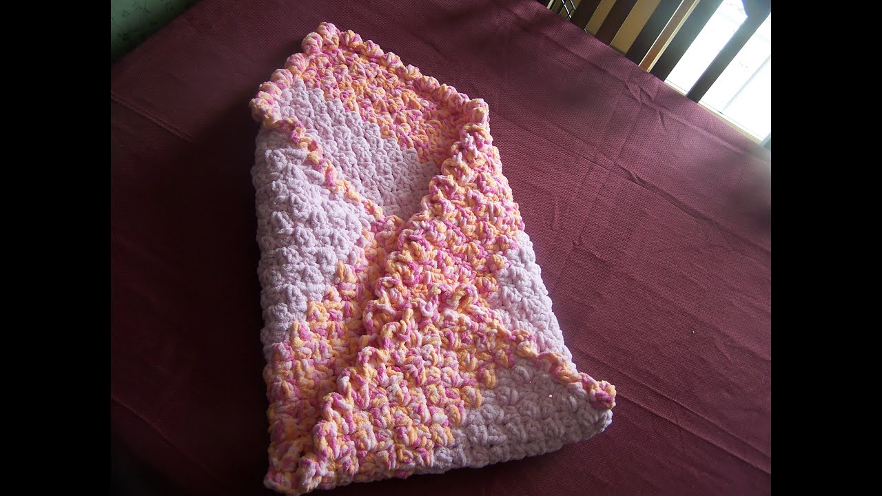 how to start a crochet blanket