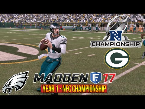 NFC Championship Game - Madden 17 Eagles Connected Franchise - Eagles vs Packers