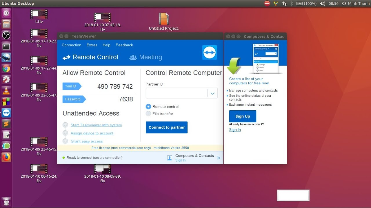 teamviewer 13 for ubuntu