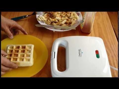 Come rendere di Waffle Utilizzando Waffle Iron & Mix HD Waffle di !!!