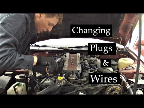 Nissan 300 ZX Z31 Spark Plugs And Wires