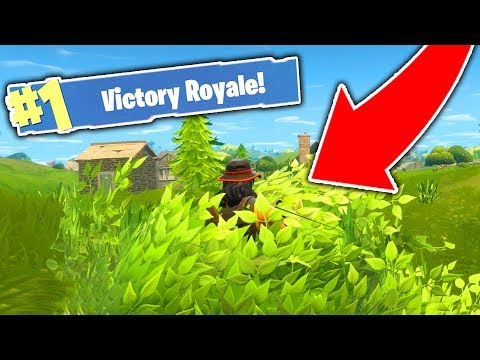 HOW TO USE THE NEW BUSH GHILLIE SUIT! (Fortnite)