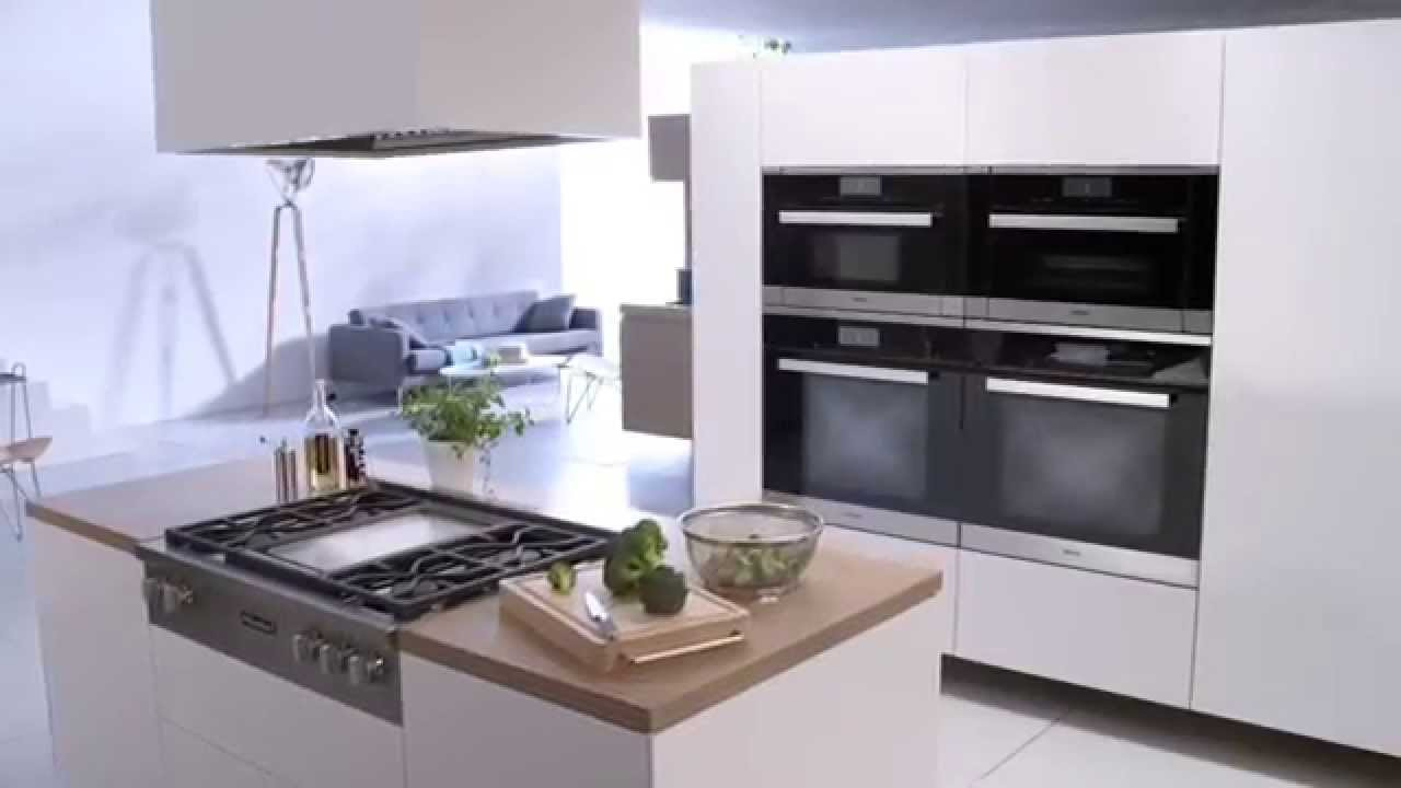 Miele Kitchen Appliances Tables With Storage Steam Oven Dg6500ss Dg6600ss Cooking Youtube