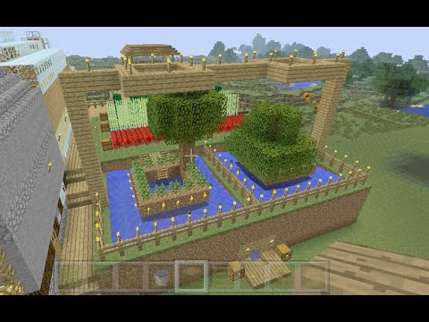 Building Stampys House [21]   The Tree Farm Pictures