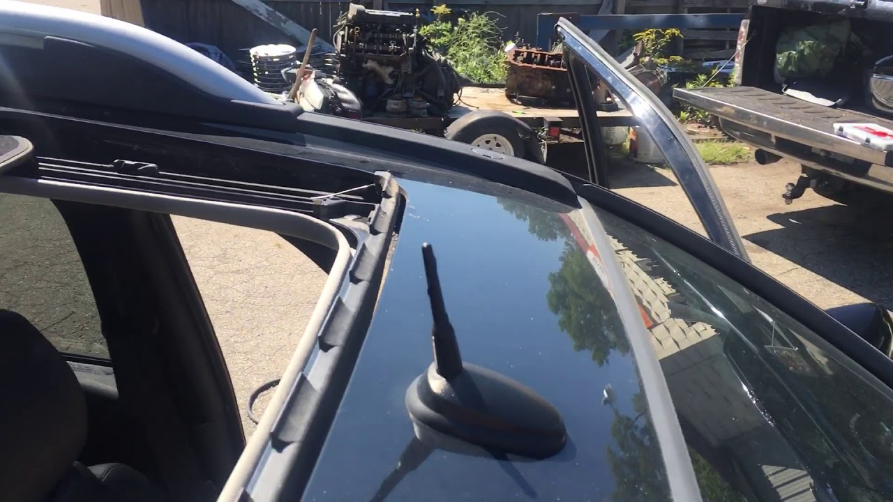 Chevy Equinox Leaking Moonroof Sunroof How To Fix Youtube
