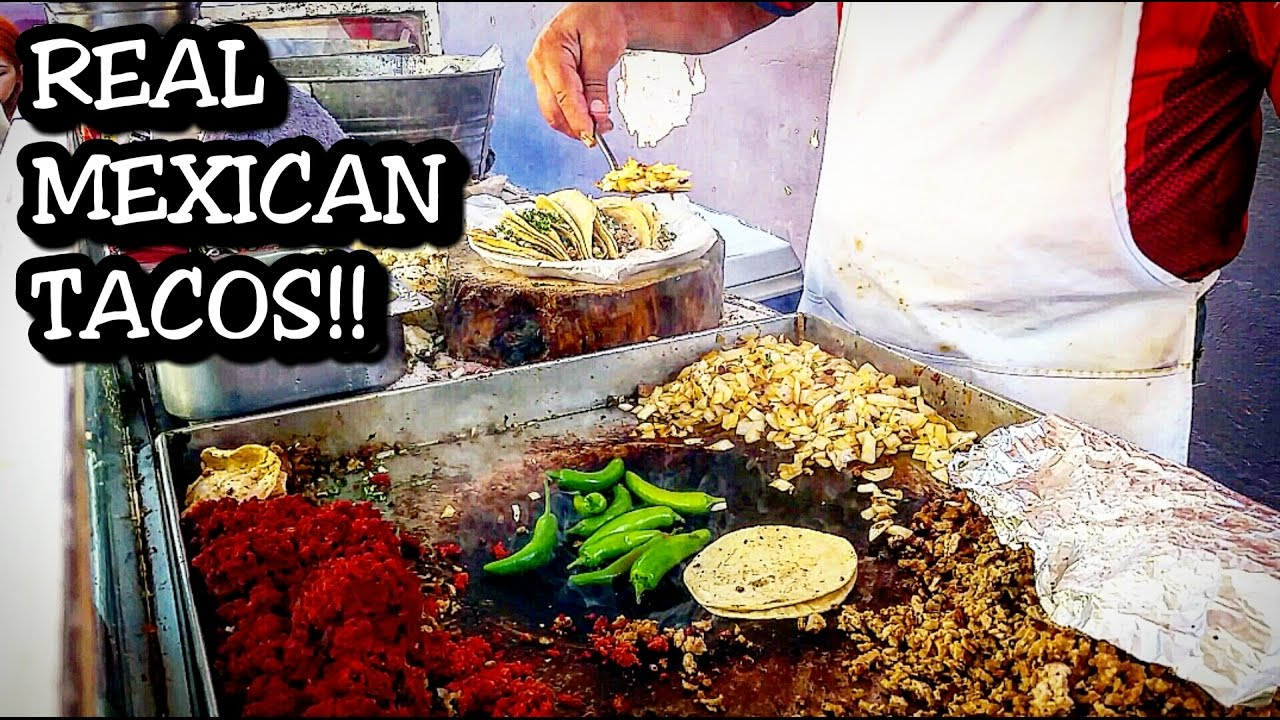 Real Mexican Street Food Tacos And Tortas Authentic Local Food