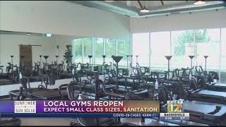 Local gyms reopening amid pandemic