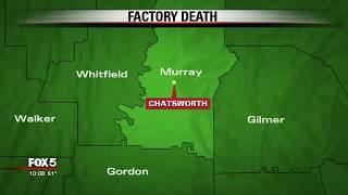 Factory death in North Georgia