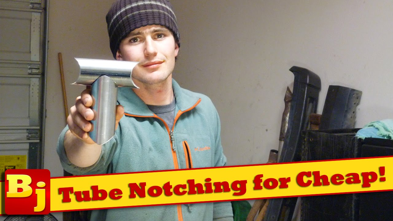 how to notch tubing perfectly for cheap youtube