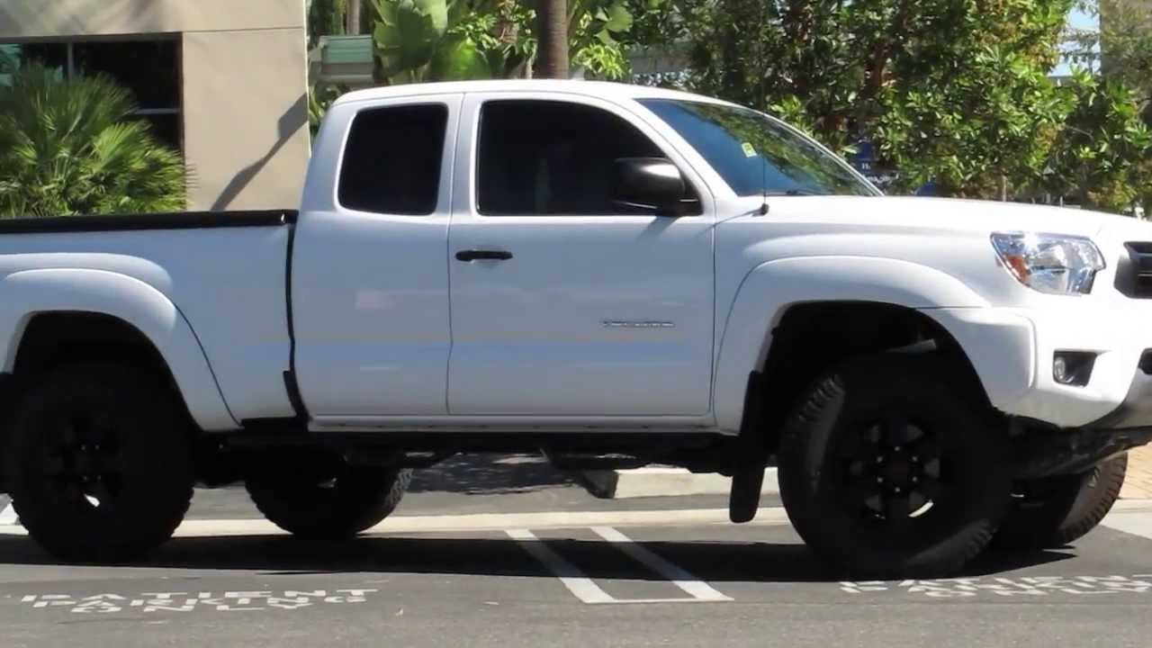 Toyota Tacoma 4x4 Icon Stage 3 Suspension Lift Youtube