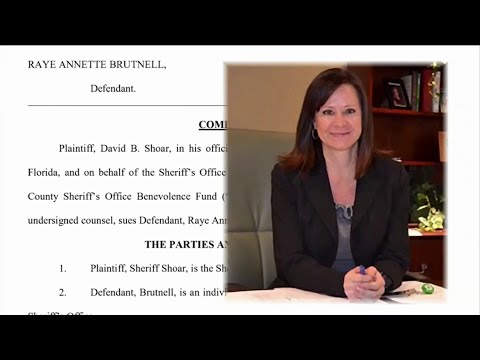 St. John's County Sheriff's Office Suing County Ex-Finance Director