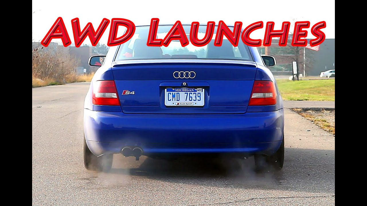 ffc7c42bbc Audi S4 quattro Launch Mix - Best of AWD Launches! - YouTube
