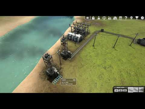 [HUN] Automation Empire 1 (Coal And Iron Mining On The Islands)