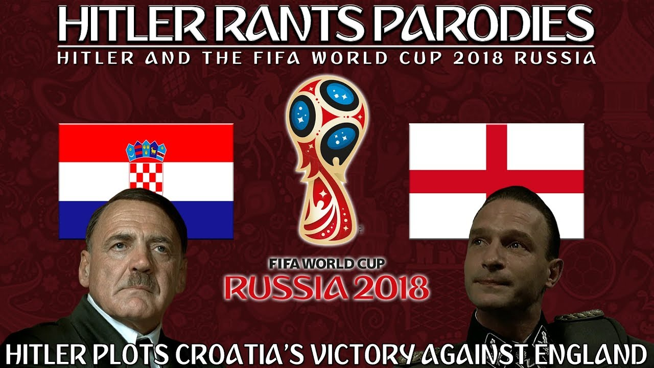 Hitler plots Croatia's victory against England in the World Cup