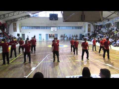 Baile de Hombres ALIANZA INFIERNO 2015 CCLA