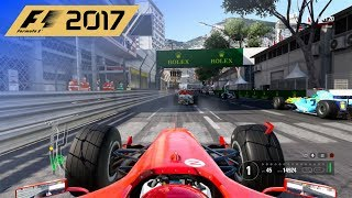 F1 2017 - 25% Classic Race in Schumacher's 2004 Ferrari at Circuit de Monaco
