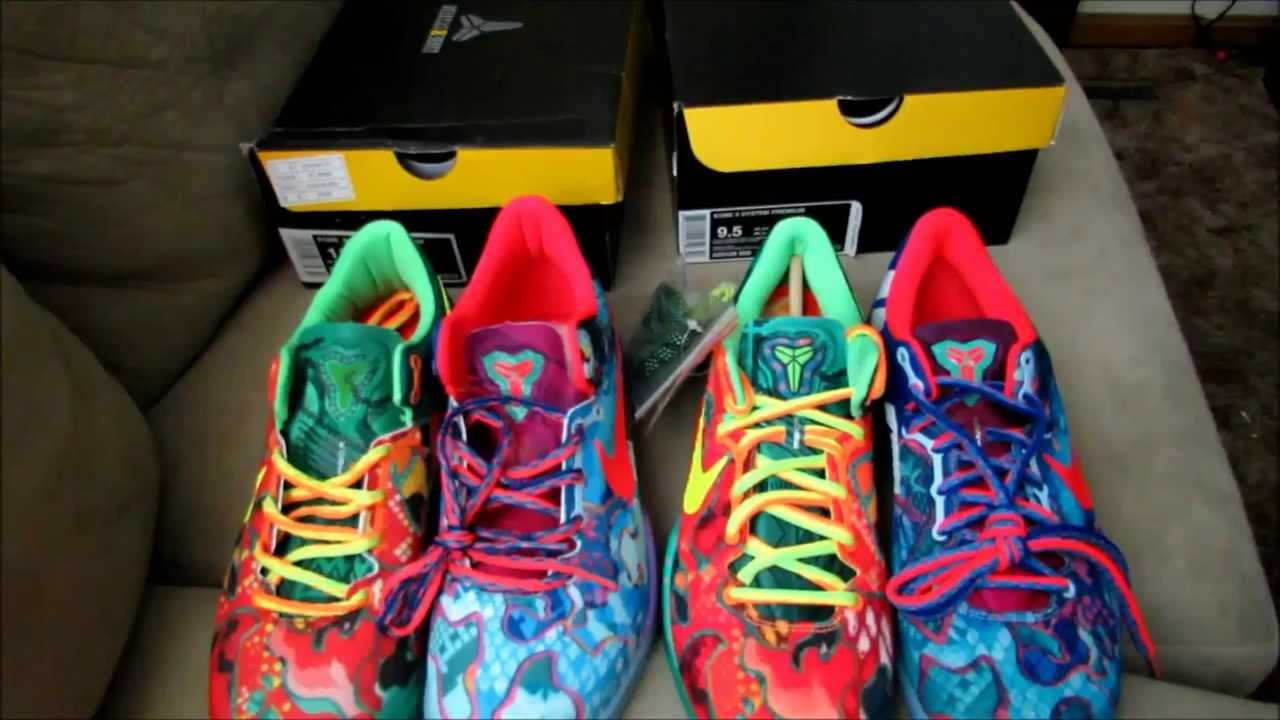 NIKE WHAT THE KOBE 8 (REAL VS FAKE) SNEAKERHEADS BEWARE - YouTube 3aab8e83ee