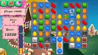 Candy Crush Saga Level 154 No Boosters