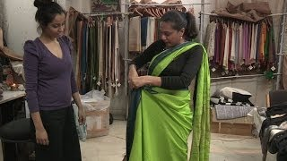 HOW TO WEAR A SARI AND ENJOY IT - BBC NEWS