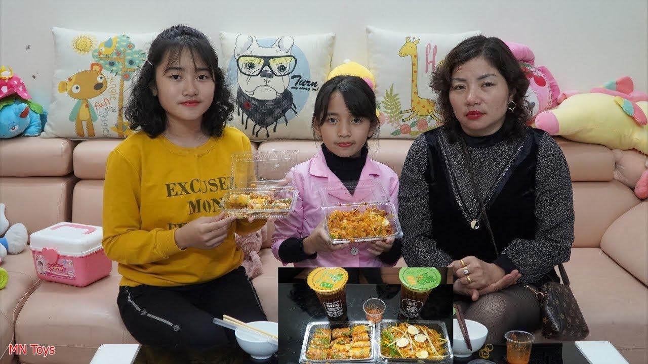 Mẹ Mua Bánh Tráng Trộn, Bánh Tráng Cuốn và Trà Bí Đao - Dạy Trẻ Rửa Tay Trước Khi Ăn - MN Toys