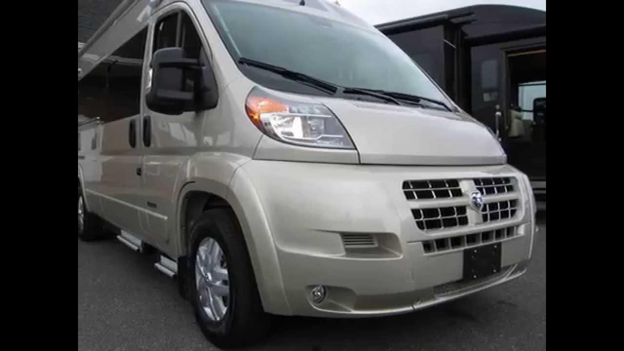 2016 Camper Van >> 2016 Roadtrek Zion Ram Promaster Conversion Van Rv Camper Youtube