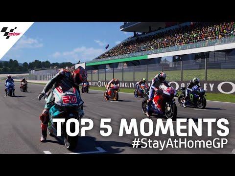 Top 5 moments | #StayAtHomeGP 🏡