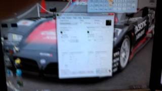 CRT monitor oscilloscope