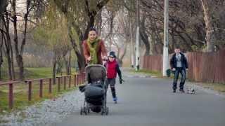 Краснодар, парк ''Солнечный остров'', поздняя осень (видео-прогулка)