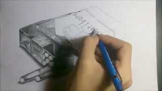 drawing 3D cigarettes