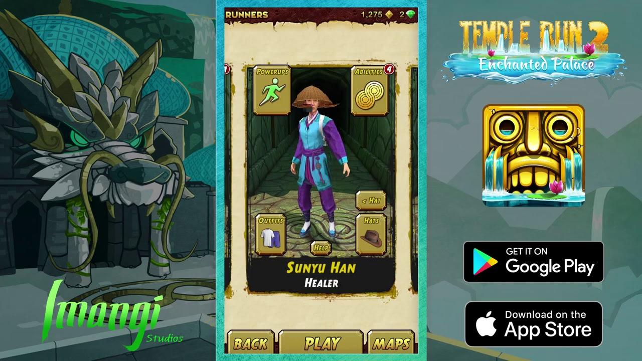 Temple Run 2 - The Enchanted Palace Gameplay