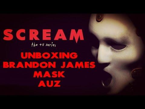 Unboxing Brandon James Scream TV Series Mask by AUZ