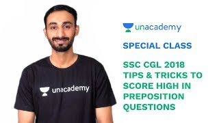 Special Class - SSC CGL 2018 - English - Tips & Tricks to Score High in Prepositions - Ajay Sharma