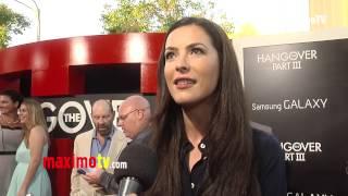 "Sasha Barrese Interview ""The HANGOVER Part III"" Los Angeles Premiere"