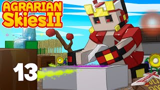 Agrarian Skies 2 - Ep 13 - El Nether ese lugar maravilloso