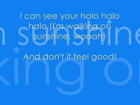 walking on sunshine lyrics pdf