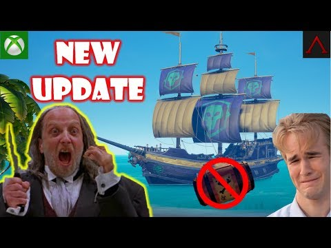💀 Sea Of Thieves XBOX | NEW UPDATE! 🏴 Skeleton Forts, Voyages, and PVP. Xbox Live Stream Gameplay.