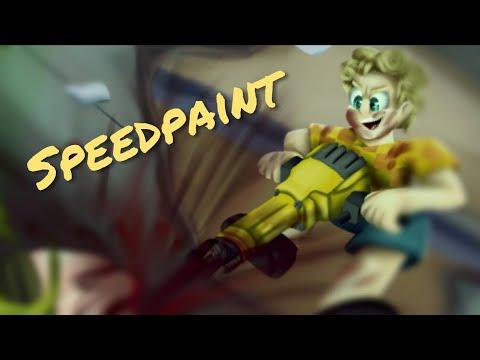 13+ [Gore] Nugget is here! (Kindergarten 2 Speedpaint)