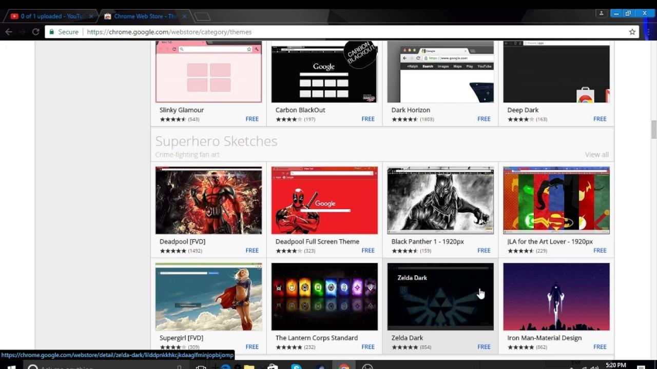 Google chrome theme iron man - How To Get Google Chrome Themes