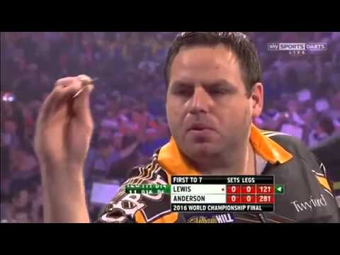 2016 World Darts Championship FINAL Lewis vs Anderson