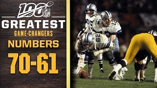 100 Greatest Game Changers: Numbers 70-61 | NFL 100